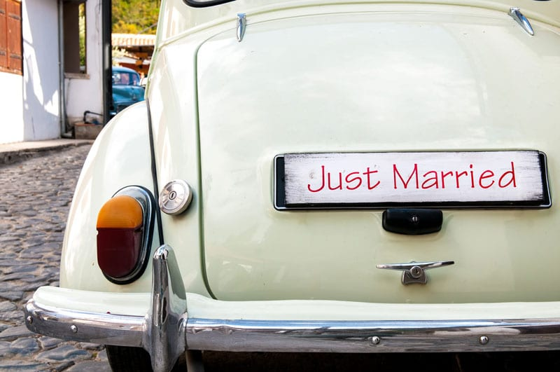 Should Newlyweds Combine Their Car Insurance Policies?