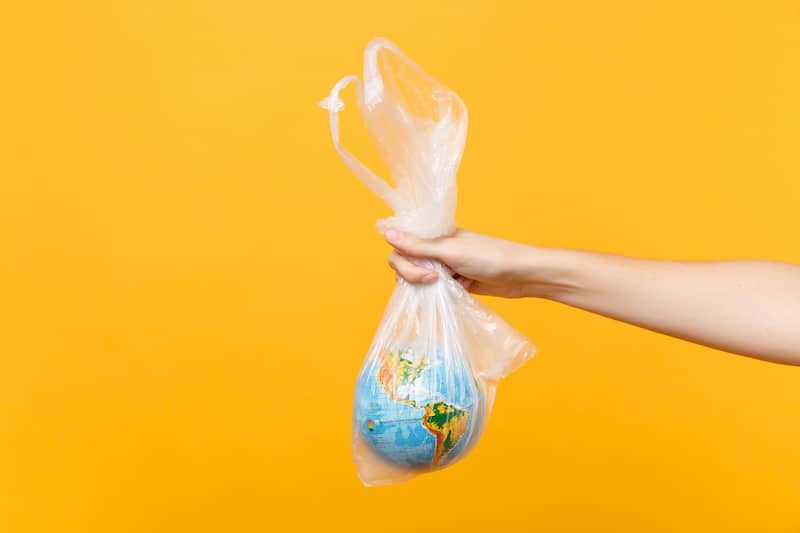 the world in a plastic bag Easy Ways Businesses Can Be More Environmentally Friendly